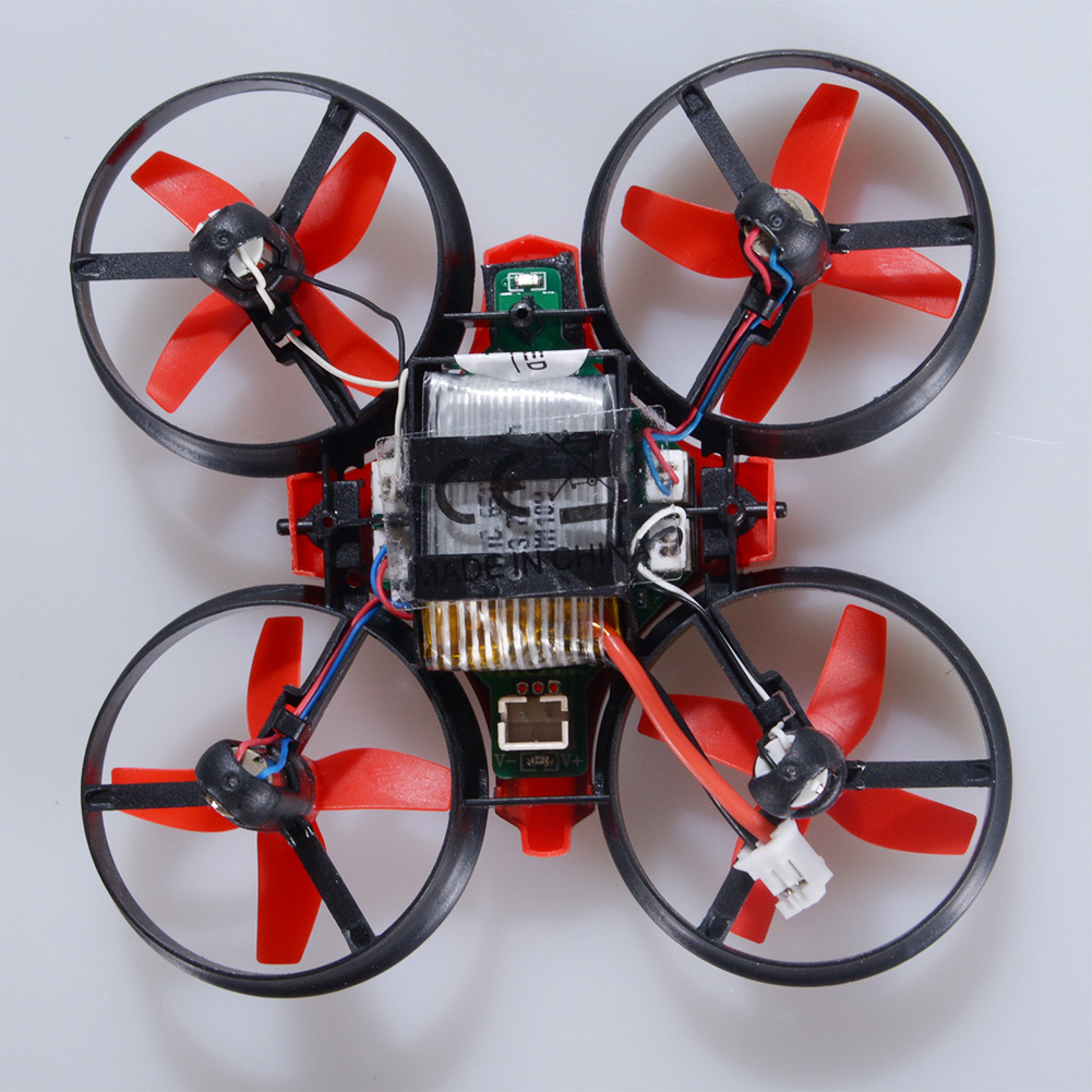 NIHUI NH010 Mini Drone 2.4G 6-Axis Gyro Headless Mode Remote Control Quadcopter (Red) - image 1 of 7