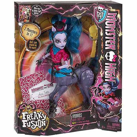 Monster High Freaky Fusion Hybrids Avea Trotter Doll - Freaky Dolls Halloween