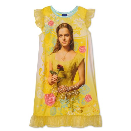 Disney - Disney Beauty And The Beast Movie Girls Belle Nightgown ... 21a892ae1