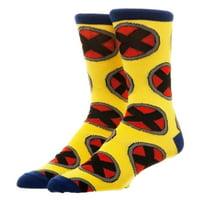 X-Men Repeat Logo Crew Socks