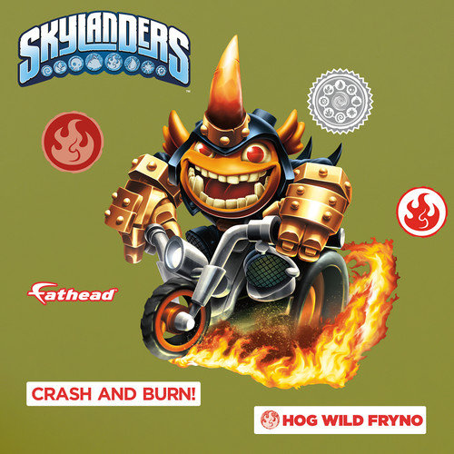 Fathead Skylanders Activision - Fryno Junior Peel and Stick Wall Decal