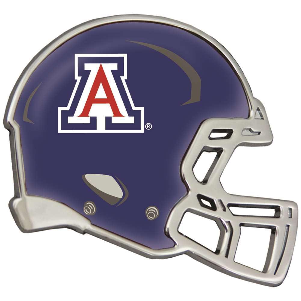 Arizona Wildcats Auto Emblem - Helmet