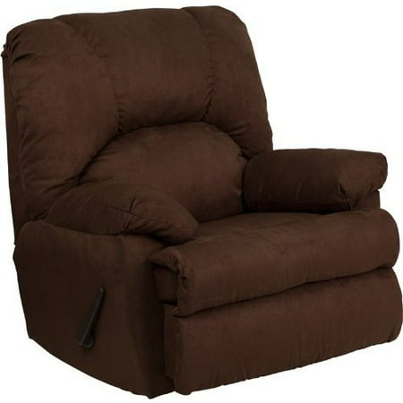 Micro Suede Rocker - Flash Furniture Contemporary Montana Microfiber Suede Rocker Recliner, Multiple Colors