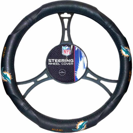 NFL Steering Wheel Cover, Dolphins ()