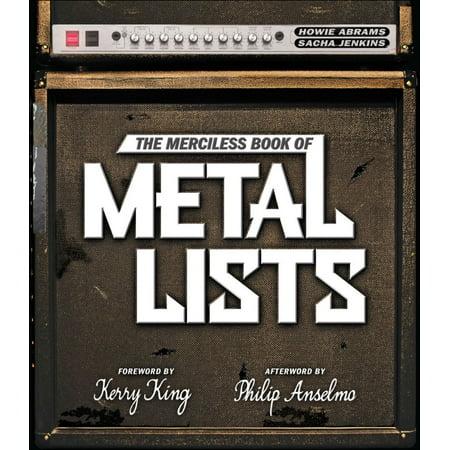 Halloween Metal Music List (The Merciless Book of Metal Lists -)