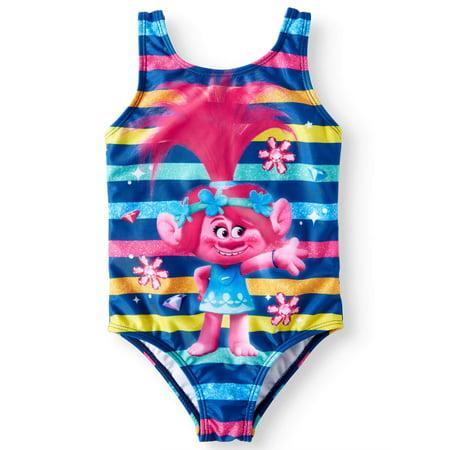 Trolls 1pc Swimsuit (Toddler Girls) - Toddler Swimsuits For Girls