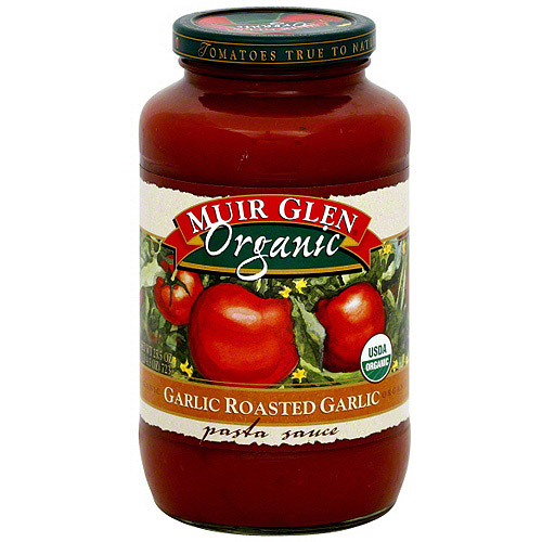 Muir Glen Roasted Garlic Pasta Sauce, 25.5 oz (Pack of 6)