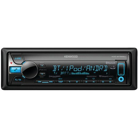 Kenwood KDC-BT565U Single-DIN In-Dash CD Receiver with Bluetooth, Siri Eyes-Free, Pandora Internet Radio and... by