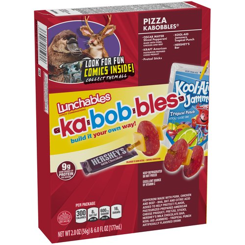 Lunchables Pizza Kabobbles Lunch Combination, 2.0 oz