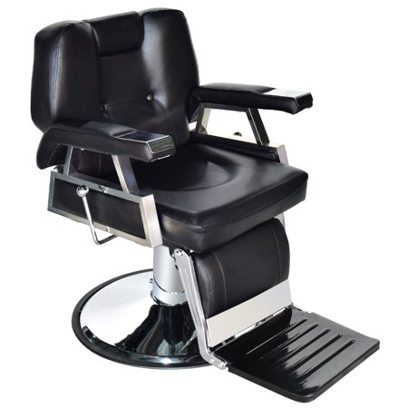 Gymax Hydraulic Recline Barber Chair Salon Beauty Spa Shampoo Hair Styling