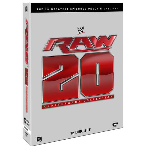 WWE: Raw 20th Anniversary Collection - 20 Greatest Episodes Uncut And Unedited