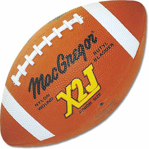 Click here to buy MacGregor Junior Rubber Football by Generic.