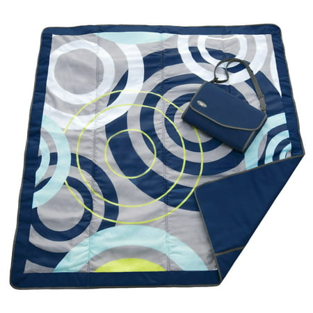 JJ COLE Outdoor Mat 5 X 5 - Blue Orbit