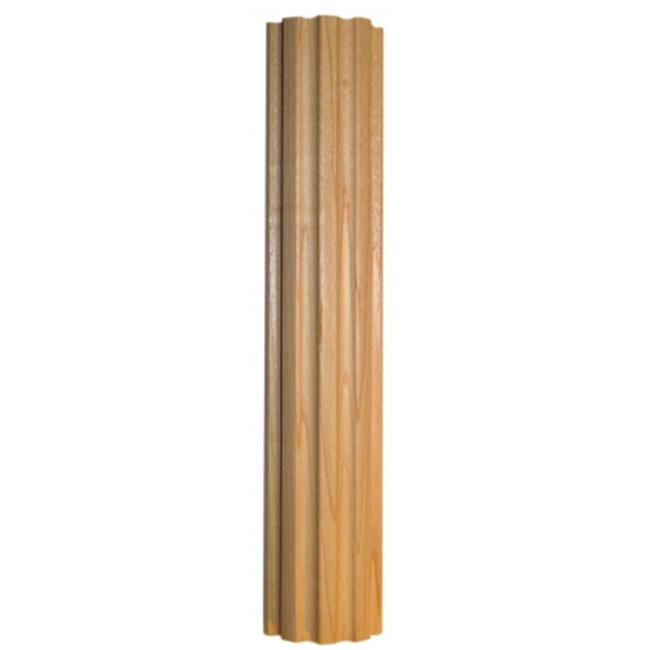 Omega  Npm2283Muf2 36 inch Fluted Column - Maple