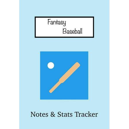 Fantasy Baseball : Notes & STATS Tracker (Paperback)