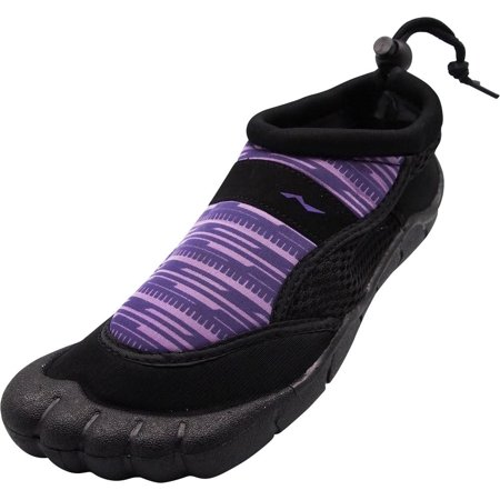 5a870f40bfd68 NORTY - Womens Water Shoes Aqua Socks Surf Yoga Exercise Pool Beach Dance Swim  Slip On