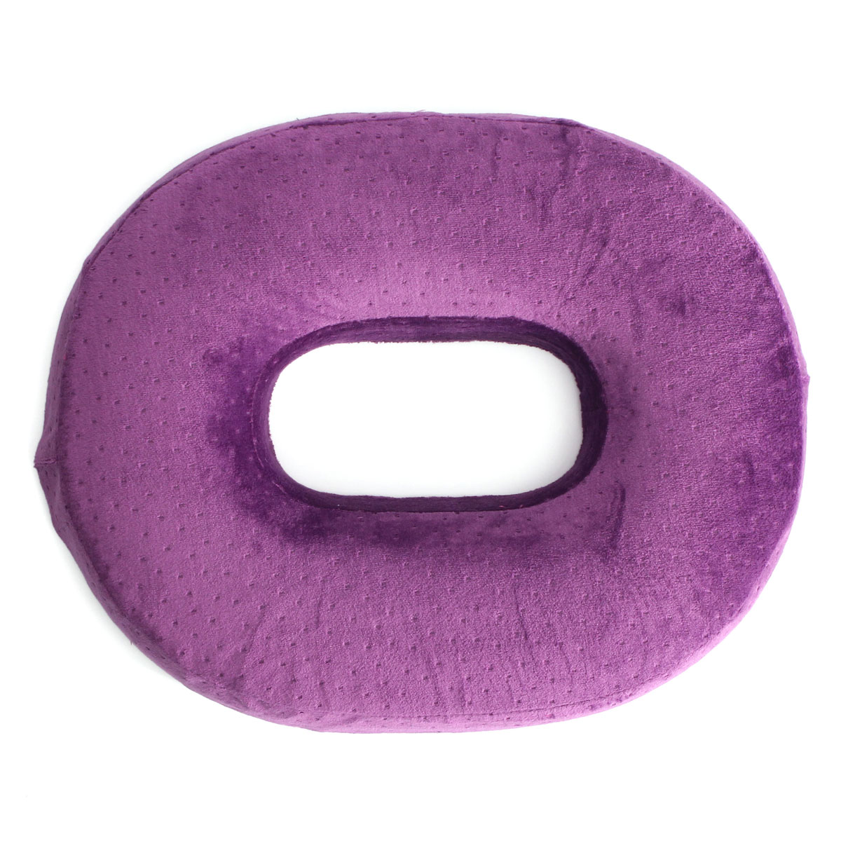 Pain Relief Donut Seat Ring Back Tailbone Support Seat Cushion Comfort Memory Foam Massagers Pillow for Home Office Car
