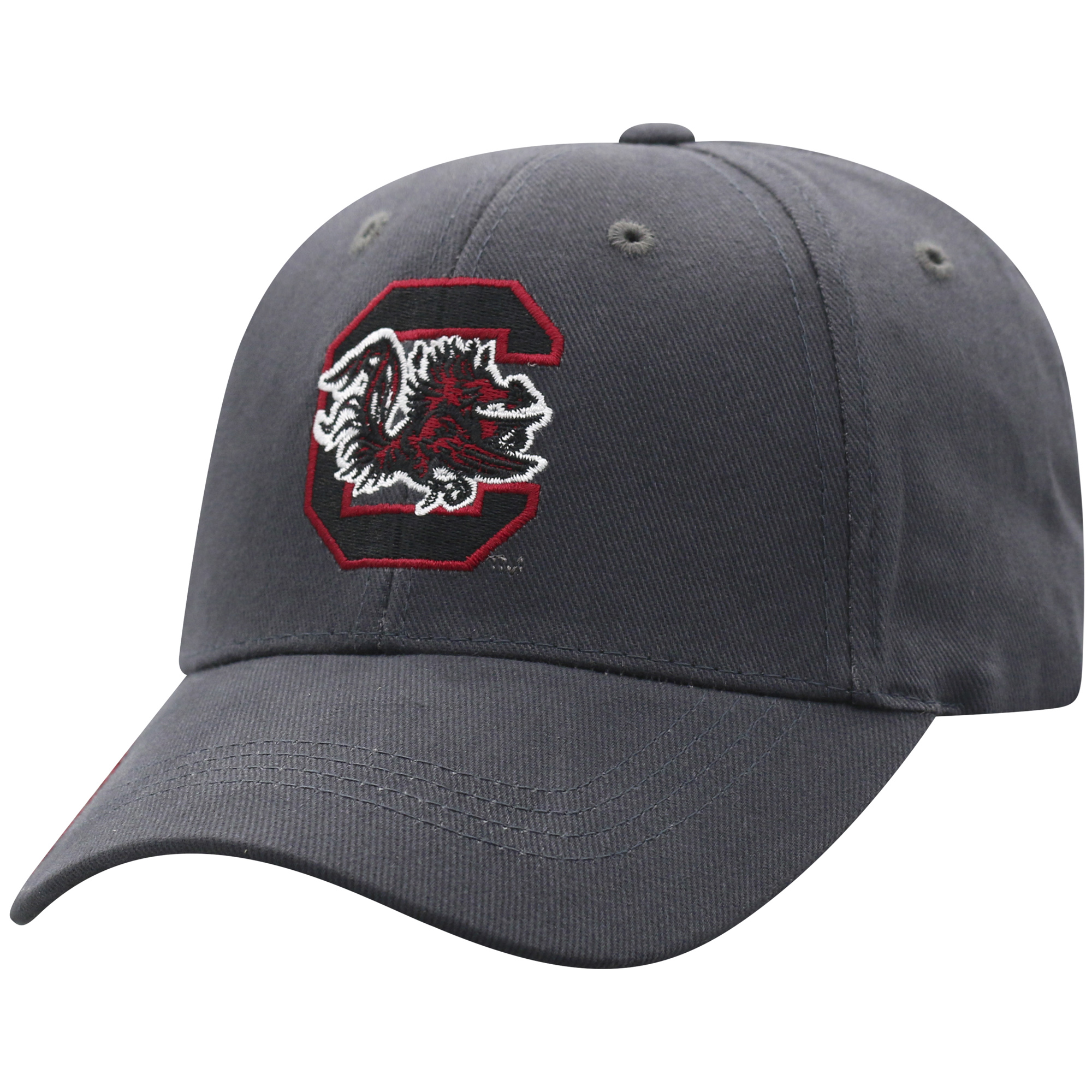 Men's Russell Charcoal South Carolina Gamecocks Endless Adjustable Hat - OSFA