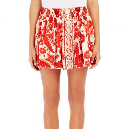 Rebecca Minkoff Women's Dane Bandana Print Skirt