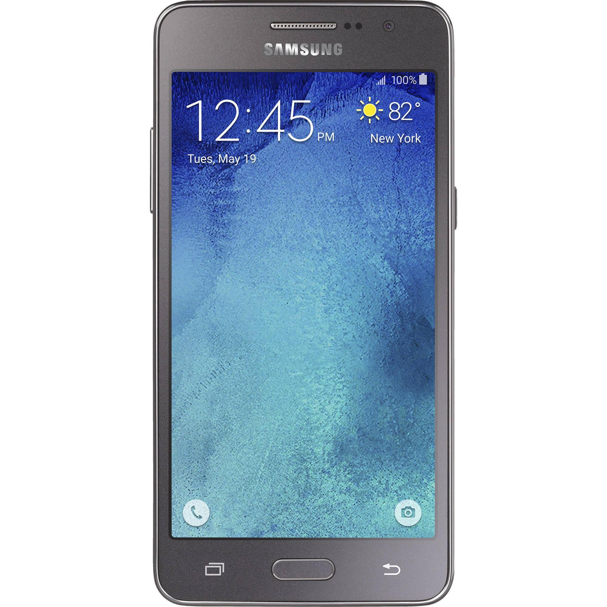 Straight Talk Samsung Galaxy GRAND Prime 4G LTE Android Prepaid Smartphone