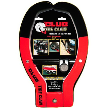 Vehicle Anti Theft System (The Club Tire Claw XL Trailer and Vehicle Anti-Theft Device,)