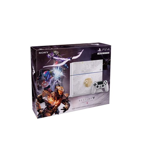 Microsoft Refurbished PlayStation 4 500GB Limited Edition Destiny The Taken King Bundle (PS4)