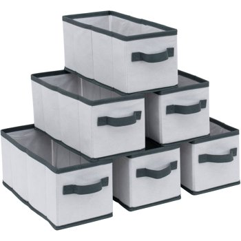 Mainstays Small K/D Drawers 6-Pack