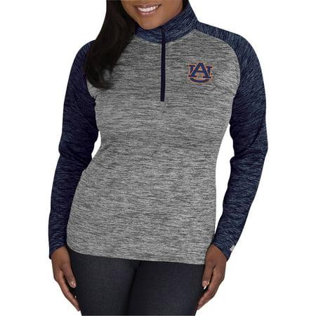 Ncaa Auburn Tigers Ladies 1 4 Zip Athletic Fitness Pullover