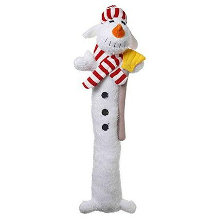 Holiday Snowman Loofa Dog Toys xLarge 18