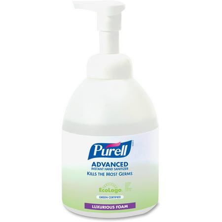 PURELL® Advanced Green Certified Instant Hand Sanitizer Foam, 535mL, Pump
