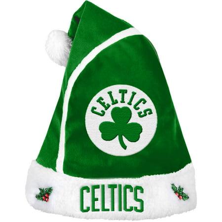 Forever Collectibles NBA 2015 Santa Hat, Boston Celtics