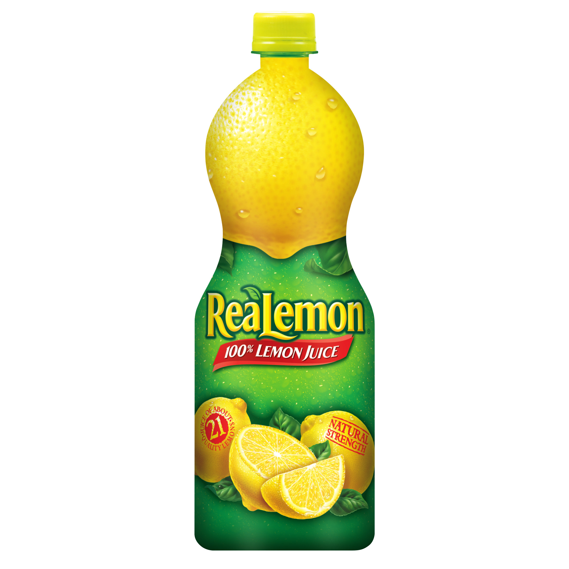 (3 pack) ReaLemon 100% Lemon Juice, 32 Fl Oz, 1 Count