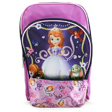 Sofia the First Toddler Backpack and Pencil Case - Sofia The First Backpack