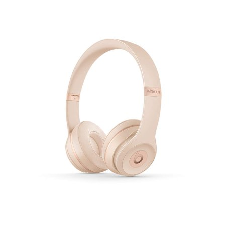 (Refurbished) Beats By Dr. Dre Beats Solo3 Wireless On-Ear Headphone - Matte Gold (Gold Beats Wireless)