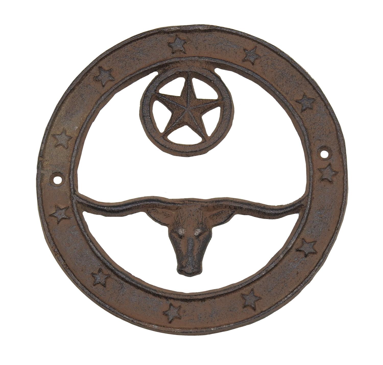 Outlaw Iron Works Texas Longhorn 6\