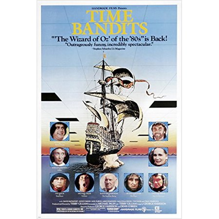 Crazy Funny Time Bandits Movie Poster 83 Michael Palin Shelley Duvall 24X36  Reproduction  Not An Original