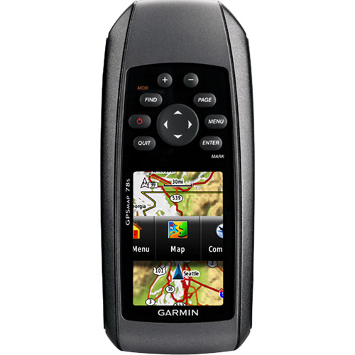 GARMIN GPSMAP 78 2.6-INCH MARINE GPS NAVIGATOR AND WORLD WIDE CHARTPLOTTER