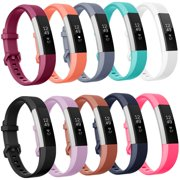 Moretek Fitbit Alta Bands Alta HR Strap Pack of 10 Small