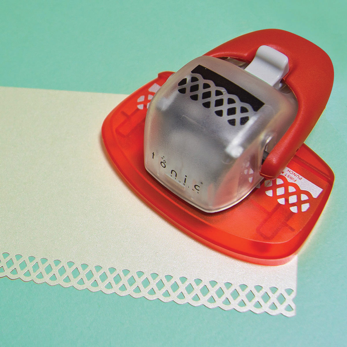 Tonic Studios Simplicity Pattern Paper Punch Butterfly Edge Strip Border