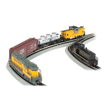 Bachmann Trains Golden Spike, N Scale Ready-To-Run Electric Train Set With  Digital Command Control
