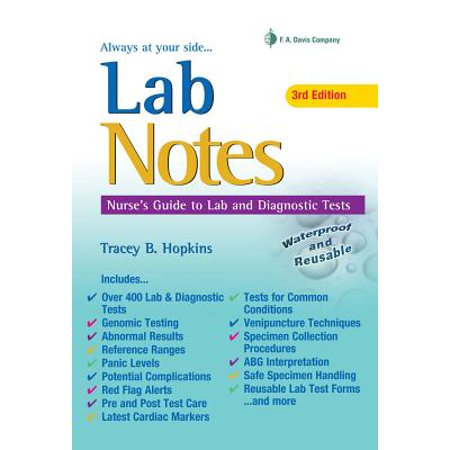 Labnotes : Nurses' Guide to Lab & Diagnostic
