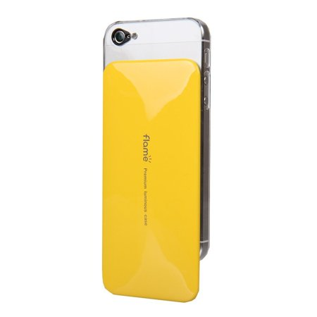 VanD Style Flashing Case for the iPhone 5/5S - Retail Packaging - Yellow - Vand Kids