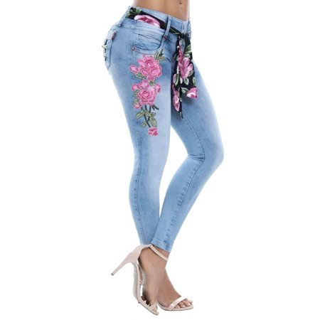 91bfaa6a9cd1f Sexy Dance - Denim Leggings Skinny Jeans Women Boyfriend Plus Size Floral  Print Slim Fit Jeans Elastic Skinny Jeans Casual Mid Rise Trousers Pants  S-5XL ...