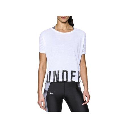 Dolman Crop - Under Armour Womens Fitness & Yoga Dolman Sleeves T-Shirt