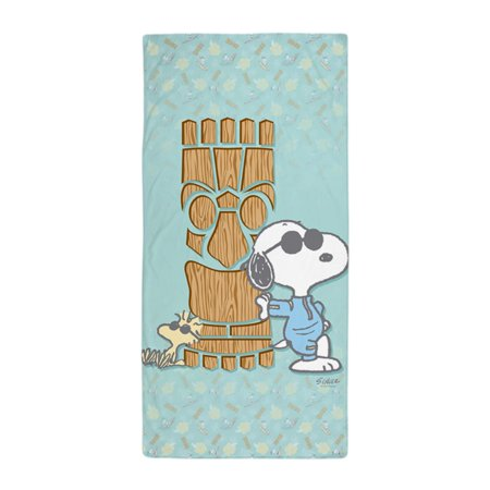 CafePress - Snoopy Tiki - Large Beach Towel, Soft 30