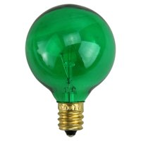 Northlight 25 ct. Incandescent G40 Christmas Replacement Bulbs