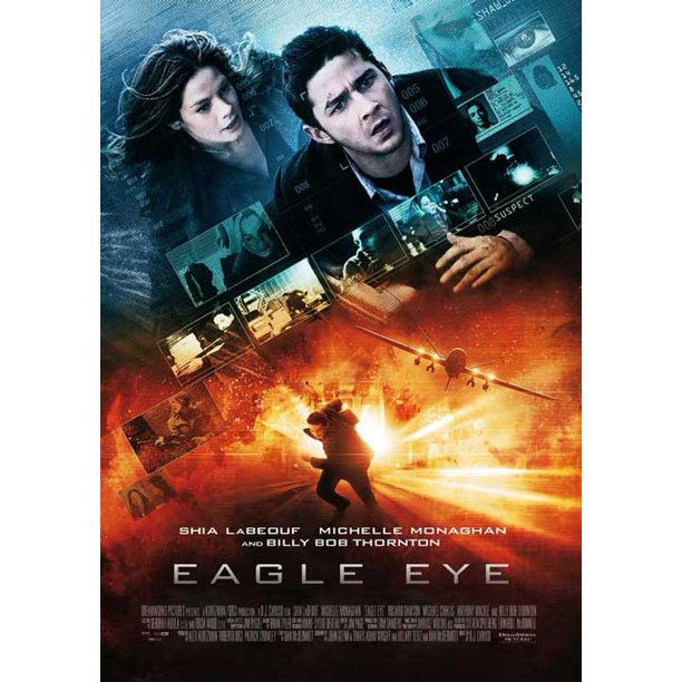 Eagle Eye Movie Poster Style C 11 X 17 2008 Walmart Com Walmart Com