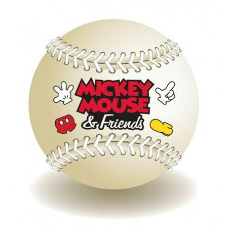 Disney Mickey Baseball (Magnet - Disney - Mickey Mouse Baseball New Toys Licensed 85184)