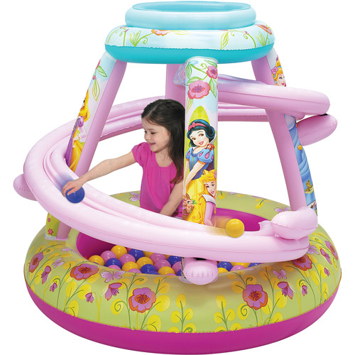 Disney Princesses Playland Inflatable Ball Pit with 50 Balls by Generic