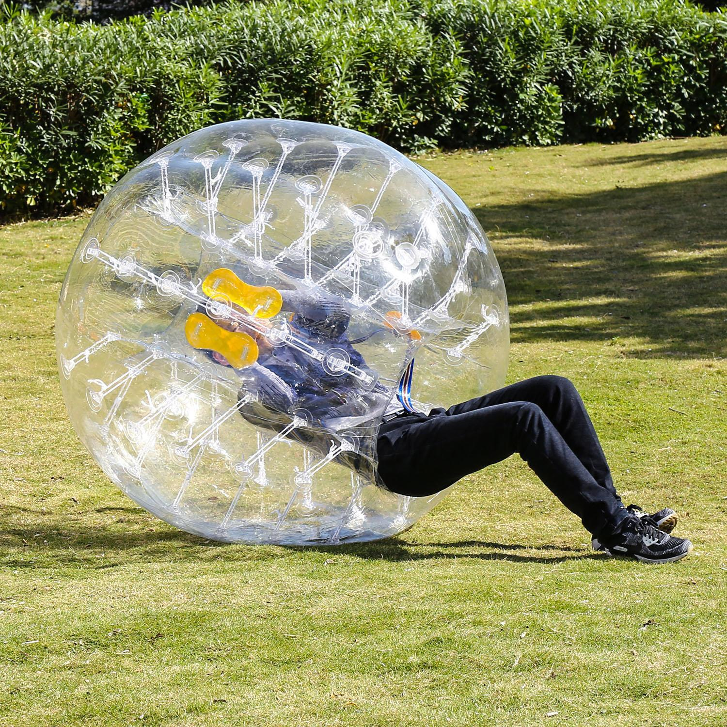 Inflatable Bumper Ball Human Knocker Ball Bubble Soccer Football Adults and Kids GlSTE by
